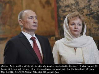 Putin and his wife split
