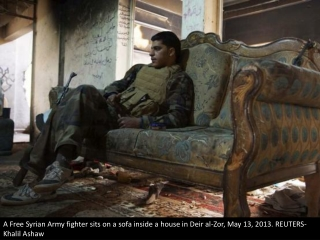 The Syrian rebels