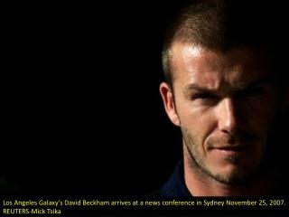 David Beckham's career