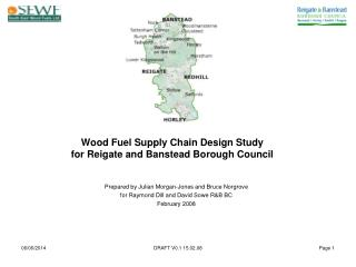 Wood Fuel Supply Chain Design Study  for Reigate and Banstead Borough Council