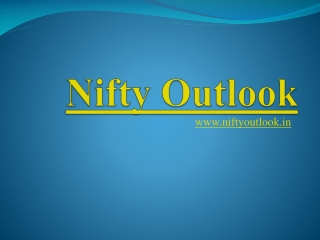 nifty outlook