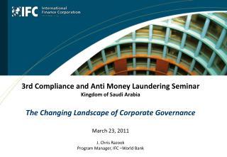 IFC Corporate Governance Program