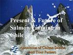 Present  Future of Salmon Farming in Chile