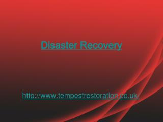 disaster recovery specialist