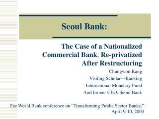 Seoul Bank: