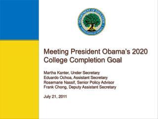 Martha Kanter Under Secretary of Education