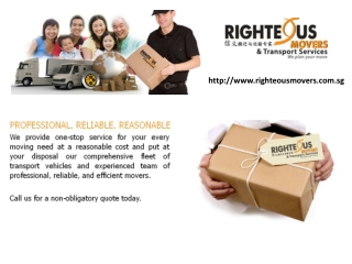 Singapore Moving Company