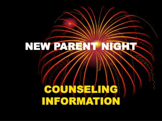 NEW PARENT NIGHT