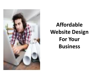 Affordable Web Design for Your Business