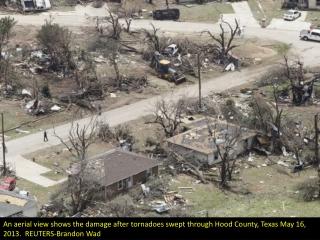 Tornadoes tear through Texas