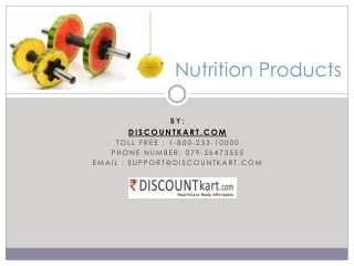 Best Nutrition Products in India