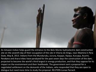 Controversial Amazon dam