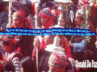Los Mayas forman el ochenta por ciento de la poblaci n de Guatemala  La tensi n pol tica es contra los Quich s un grupo