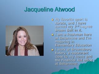 Jacqueline Atwood