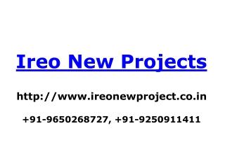 Ireo Flats | Ireo Apartments | +919650268727