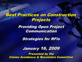 Best Practices on Construction Projects