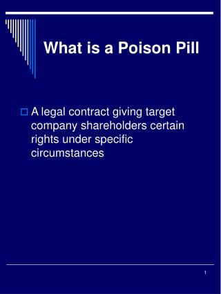 What is a Poison Pill