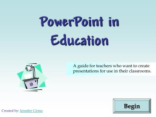 PowerPoint in Education