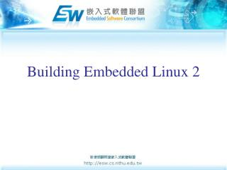 Building Embedded Linux 2