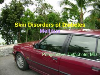 Skin Disorders of Diabetes Mellitus