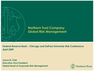 Risk Culture at Northern Trust