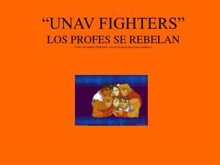 unav fighters.