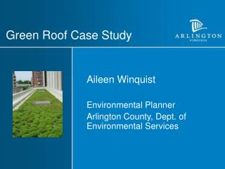 Green Roof Case Study