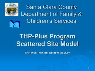 Santa Clara County Department of Family  Children s Services