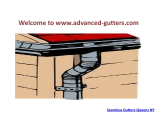 Seamless Gutters Queens NY