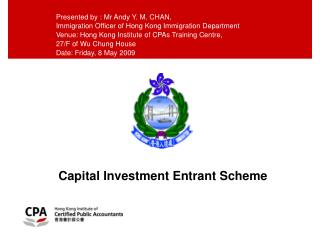 Capital Investment Entrant Scheme