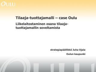 Oulun visio