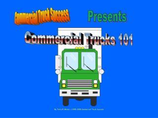 Commercial Trucks 101