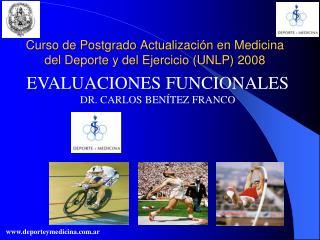 Curso de Postgrado Actualizaci n en Medicina del Deporte y del Ejercicio UNLP 2008