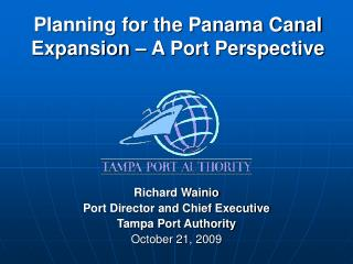 Planning for the Panama Canal Expansion   A Port Perspective