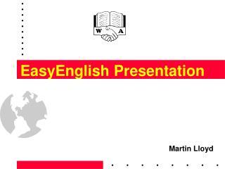 EasyEnglish Presentation