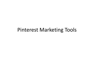 Top 5 Pinterest Marketing Tools for Driving Traffic