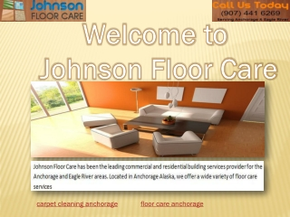 commercial carpet cleaners Anchorage