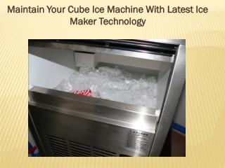 Portable Ice Cube Making Machine & Best Ice cube Maker Machi