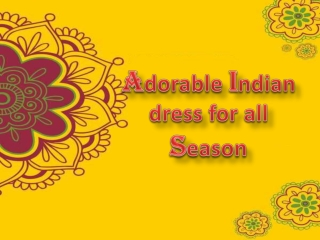 Amazing collection of Indian outfit for girls