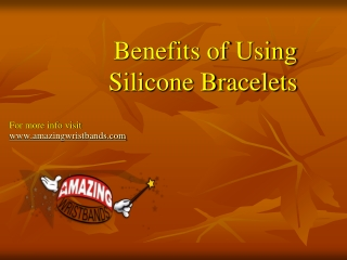 Benefits Of Using Silicone Bracelets