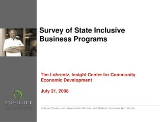 Survey of State Inclusive Business Programs