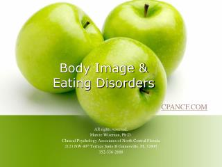 Body Image   Eating Disorders