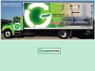 Green Van Lines - Dallas Movers Your Premier Dallas Company
