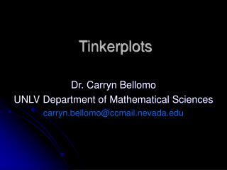 Tinkerplots