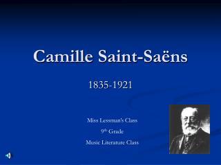 Camille Saint-Sa ns