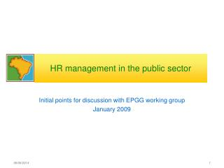 HR management in the public sector