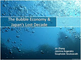 The Bubble Economy  Japan s Lost Decade