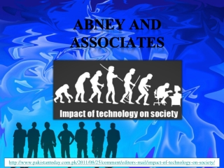 abney and associates, Impact of technology on society