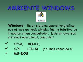 AMBIENTE WINDOWS