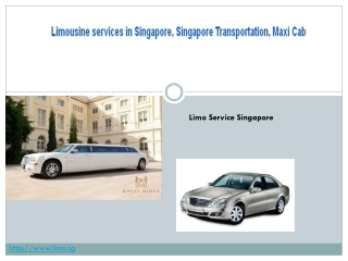 limousine in singapore